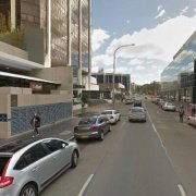 Indoor lot parking on Macquarie Street in Parramatta