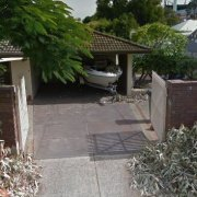 Undercover parking on May Avenue in Subiaco