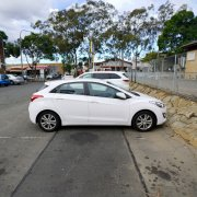 Outdoor lot parking on Memorial Avenue in Merrylands