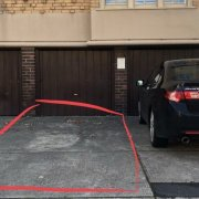Undercover parking on Mona Place in South Yarra