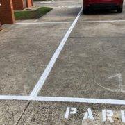 Outdoor lot parking on Montgomery Street in Moonee Ponds
