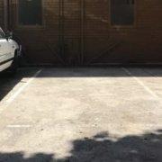 Outside parking on Moubray St in Albert Park