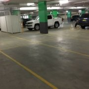 Indoor lot parking on O'Riordan Street in Mascot