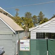 Undercover storage on Pine St in Manly Council