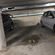 Indoor lot parking on Pitt Street in Redfern