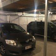 Garage storage on Qualtrough Street in Woolloongabba