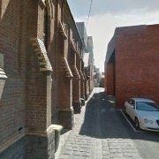 Garage parking on Rathdowne St in Melbourne