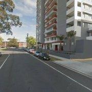 Garage parking on River Road West in Parramatta