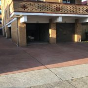Garage parking on Roscoe Street in Bondi Beach