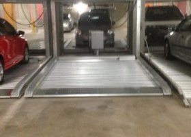 Undercover secure parking on car stacker -.jpg