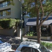 Outdoor lot parking on Roslyn Gardens in Rushcutters Bay
