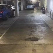 Indoor lot parking on Swanston St in Carlton