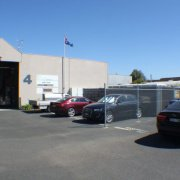 Outdoor lot storage on Techno Park Drive in Williamstown