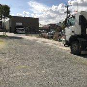 Outside storage on Tobruk Avenue in St Marys