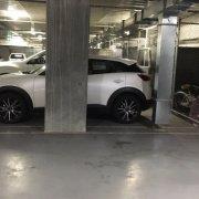 Garage parking on Wellington St in St Kilda