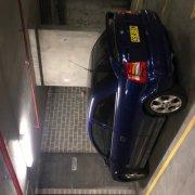 Indoor lot parking on William Street in Woolloomooloo