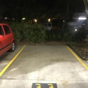 Undercover parking on Williams Parade in Dulwich Hill