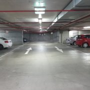 Garage parking on Bank St in South Melbourne