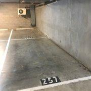 Undercover parking on Pickles St in Port Melbourne