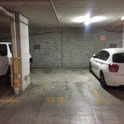 Garage parking on Cooper St in Strathfield
