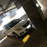 Indoor lot parking on Spencer St in Melbourne