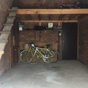 Garage storage on Wallis Parade in North Bondi