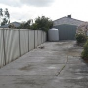 Driveway storage on Caradon Dr in Truganina