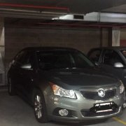 Garage parking on East Terrace in Adelaide